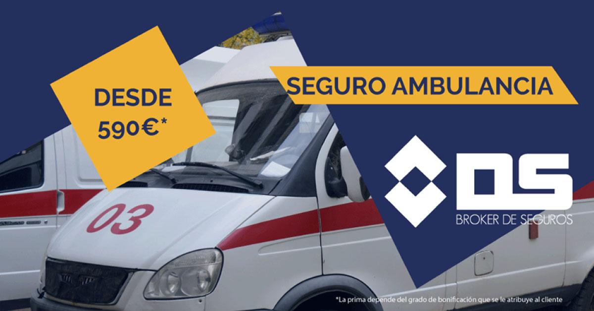 SEGURO DE AMBULANCIA DESDE 590€